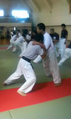相撲の稽古